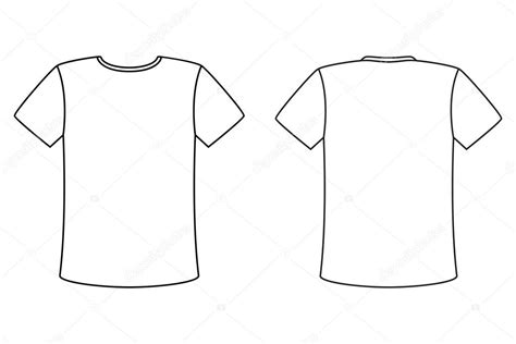simple layout vector blank t shirt vector design template simple front and