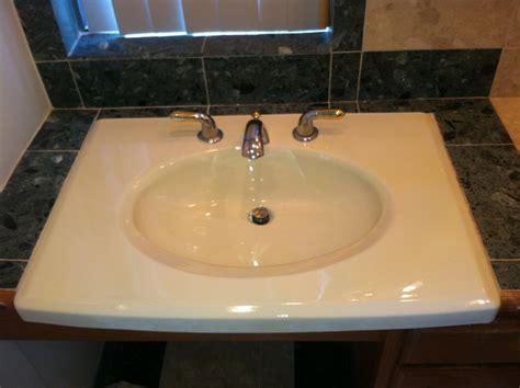 refinishing a kitchen sink countertop sink refinishing bathroom sinks richmond