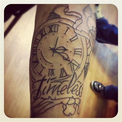 timeless clock and roses sleeve 23 best ideas is timeless images on
