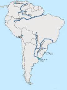 map of america with rivers test your geography knowledge south america rivers and