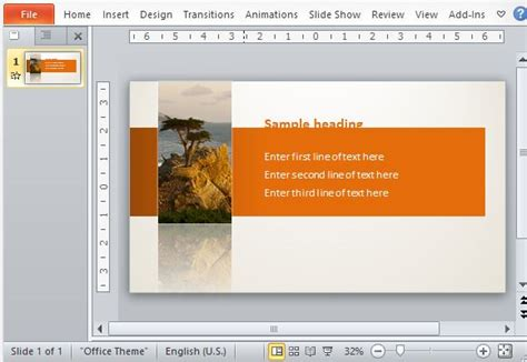 powerpoint tutorial text animation animated powerpoint template with sliding text
