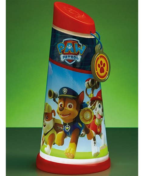paw patrol light up scooter paw patrol go glow night beam tilt torch lighting