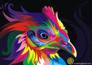 colorful animals spire colorful vector animals by wahyu romdhoni