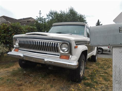 1977 Jeep J10 Seattle S Parked Cars 1977 Jeep J10 Honcho
