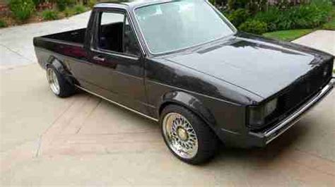 volkswagen rabbit truck custom find custom fully restored vw rabbit caddy in