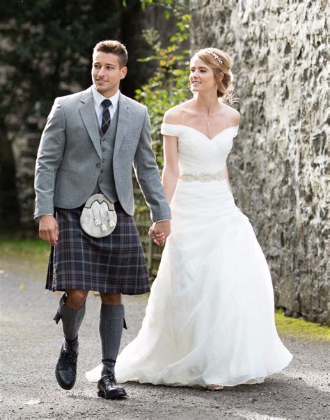 Wedding Kilt by In Kilts At Wedding Www Pixshark Images