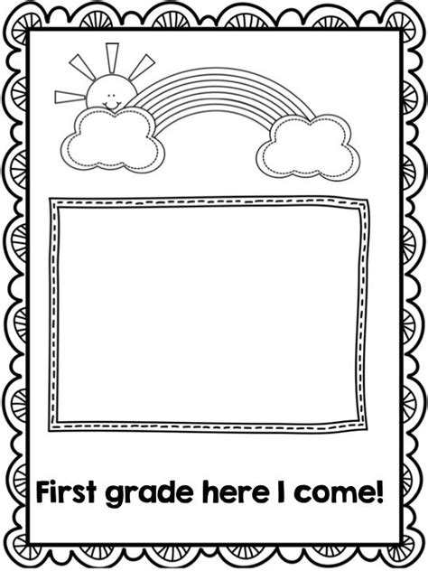 Kindergarten Scrapbook Memory Book A Fun Year Of Learning Kindergarten Memory Books And Kindergarten Book Template