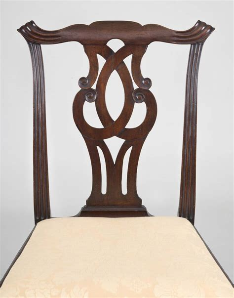 Georgian Chinese Chippendale Side Chair Circa 1760 For | georgian chinese chippendale side chair circa 1760 for