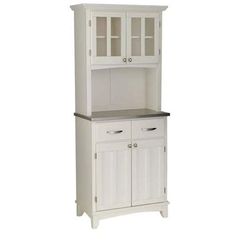 small kitchen hutch cabinets buffet hutch buffet and white microwave on