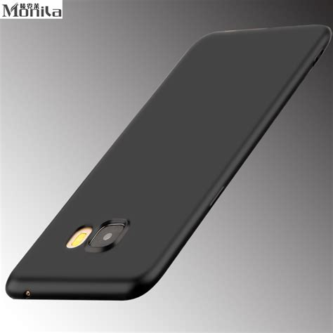 Samsung Galaxy S7 Edge Black Matte Casing Slim Soft for sasmung galaxy s6 edge s7 s7 edge soft tpu matte slim cover for samsung galaxy c5