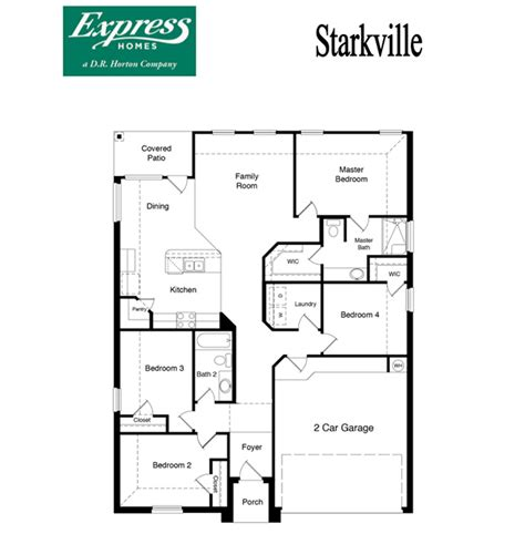dr horton oxford floor plan starkville parkview fort worth texas d r horton