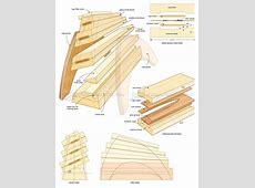 DIY Knife Block • WoodArchivist T 34 Blueprints