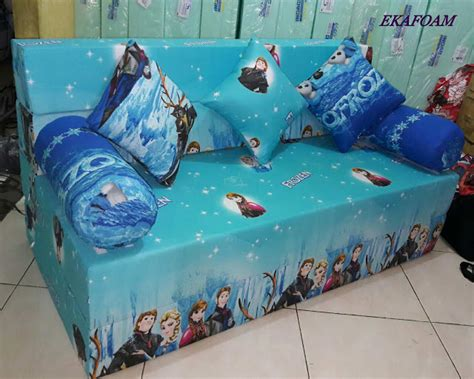 Sofa Bed Inoac Frozen sofa bed inoac motif anak agen resmi kasur busa inoac