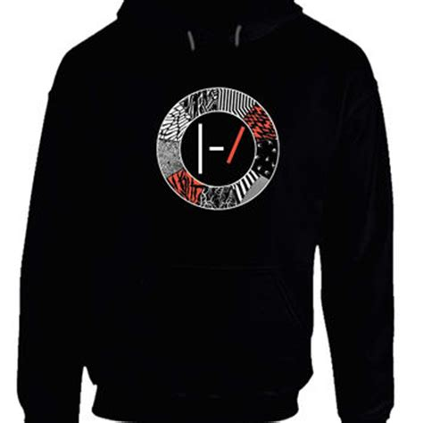 Sweater Twenty One Pilots Logo Redmerch twenty one pilots blurryface logo hoodie from teehouses 21