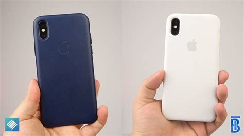 review apple silikon leder case fuers iphone