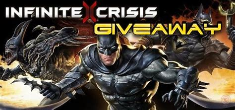 Infinite Crisis Giveaway - giveaway closed beta schl 252 ssel f 252 r infinite crisis