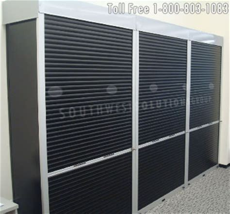 Roll Up Security Doors by Industrial Rolling Shelving Doors Locking Tambour Roll