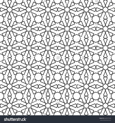 islamic pattern stock islamic pattern abstract geometric pattern vector stock