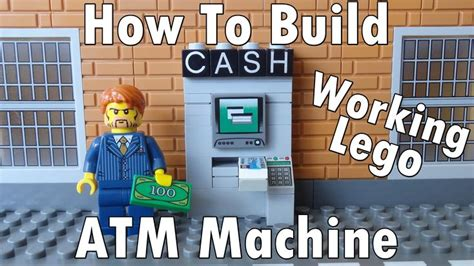 lego atm tutorial 45 best lego its all about lego here images on pinterest