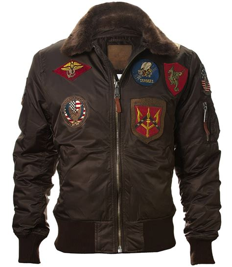 Jaket Pilot Bomber By Judapran top gun 174 b 15 s heavy duty vintage flight bomber