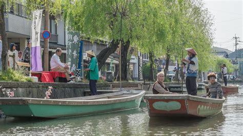 yanagawa river boat tour gaijin go japan - Boat Tour Japan