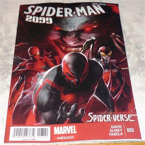 libro spider verse marvel spider verse spider man 2099 002 36 00 en mercado libre