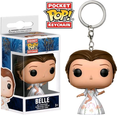 Funko Pop Lanyard Disney The Beast and the beast 2017 celebration pocket pop keychain ikon collectables