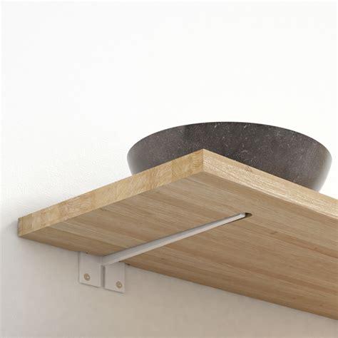 lade davide groppi wandbeugel plano blinde bevestiging plank werkblad