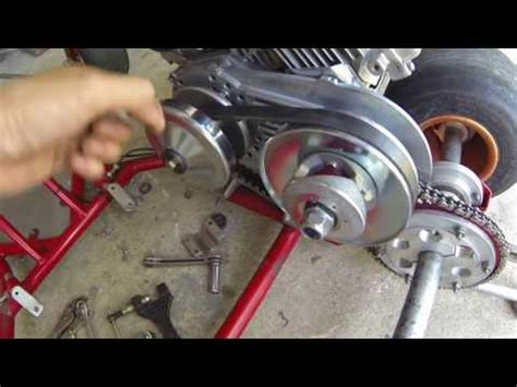 doodle bug mini bike clutch problems torque a verter tav 212cc predator engine doovi