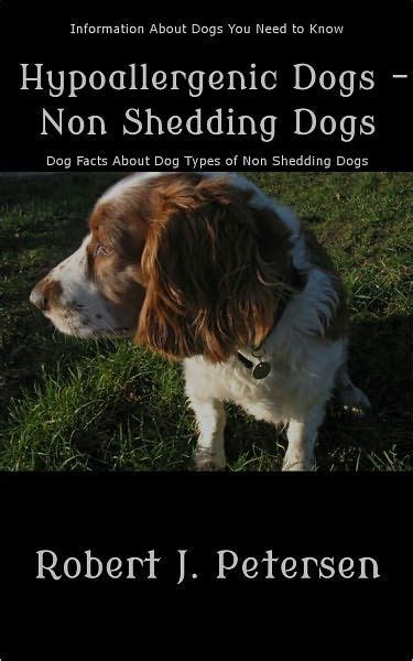 hypoallergenic non shedding dogs hypoallergenic dogs non shedding dogs information about types by robert j