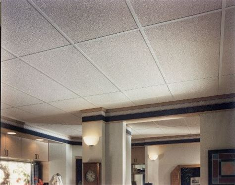 Residential Ceiling Panels Pebble Fiberglass Contractor Series Textured White 2 X 4