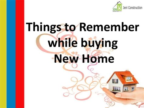 things new homeowners need to buy things to remember while buying new home