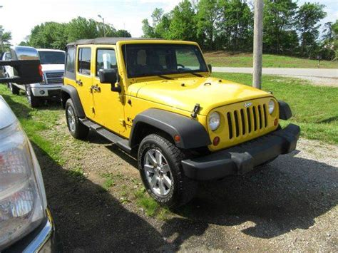 2008 jeep wrangler mpg 2008 jeep wrangler unlimited 4x4 x 4dr suv in bowling