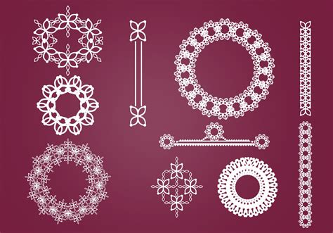 wreaths borders  ornaments vector pack   vectors clipart graphics vector art