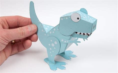 How To Make At Rex Out Of Paper - how to make a paper dinosaur t rex www pixshark