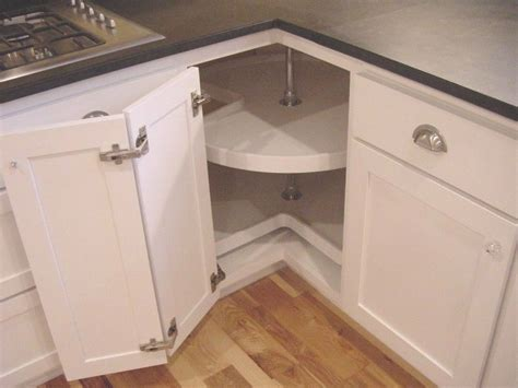adding a lazy susan in a corner cabinet lazy susan hardware package face frame cabinet ebay