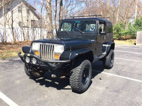 Used Jeeps For Sale In Ma Sell Used 1987 Jeep Wrangler Laredo 4 0l 4x4 Lifted About