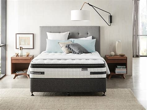 posturepedic bed posturepedic exquisite mattress bed base sealy australia