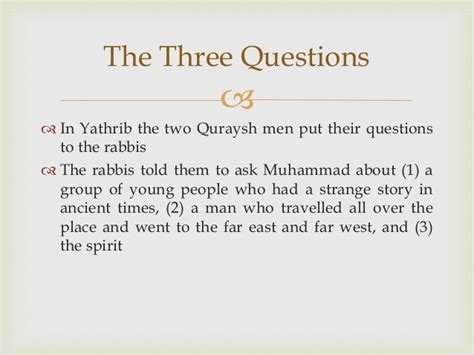 prophet muhammad biography quiz the life of the prophet muhammad chapter 11 summary