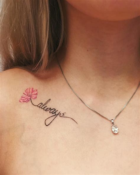 collar bone tattoo ideas 30 collarbone quote tattoos that are as meaningful as they
