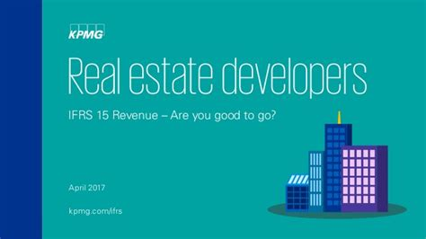 What Does Mba In Real Estate Developemnt by Real Estate Developers Ifrs 15 Revenue Are You To Go