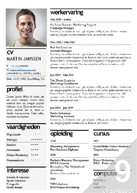 Best Resume And Cover Letter by Cv Sjabloon Bestellen