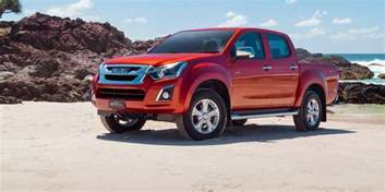 Isuzu Dmax Specs 2017 Isuzu D Max Pricing And Specs Updated Engine And