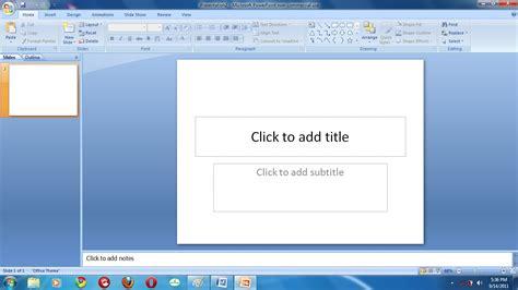 cara membuat power point 2007 bagi pemula cara praktis powerpoint untuk pemula maniak komputer s blog