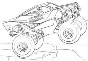 ausmalbild iron man monster truck