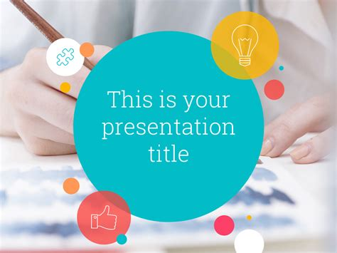 themed powerpoint templates free playful powerpoint template or slides theme