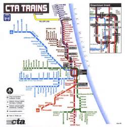 Chicago L Map by Chicago El Train Map Bing Images