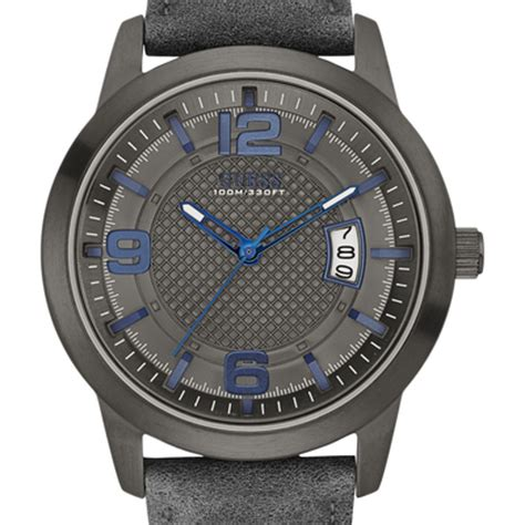 Guess Highline W0829l3 montre district w0494g5 guess gris montres and co