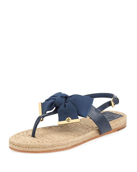 navy blue sandals burch flat bow espadrille sandals newport