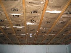 How To Insulate Basement Ceiling For Sound by Compass Points Log Home Update Part 56 Finishing For